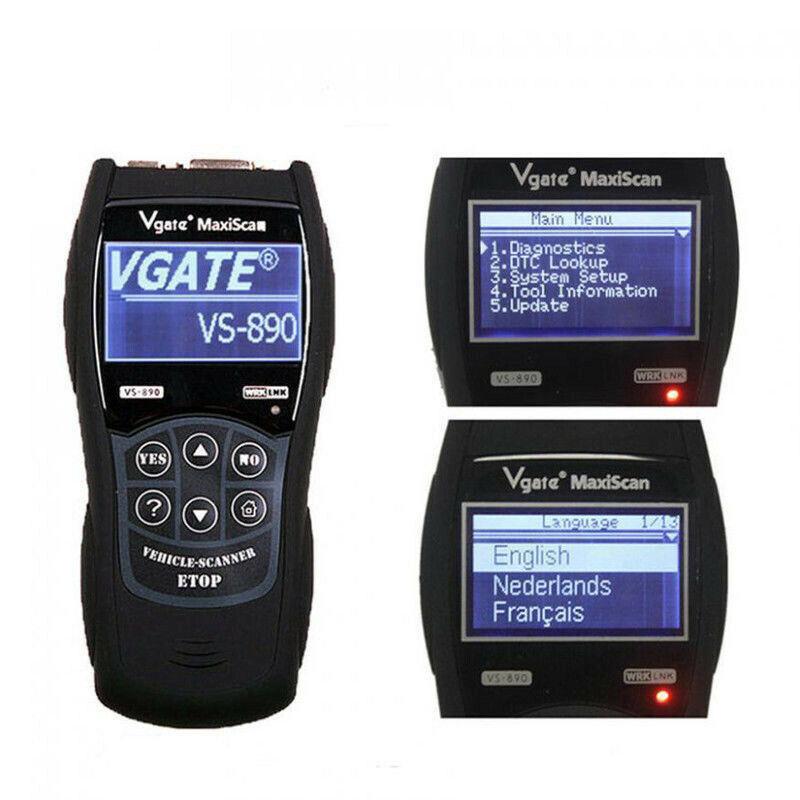 Fits Hyundai Santa Fe Terracan Tucson Fault Code Diagnostic Reader Scanner UK
