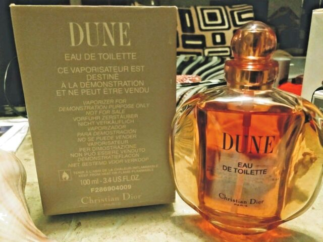 DUNE by CHRISTIAN DIOR 100 ml edt spray (original) 1990's