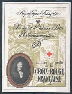 253173) France Croix Rouge Markenheft 1978 **-afficher Le Titre D'origine