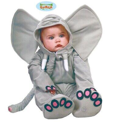 Inventivo Bambino E Bambino Elefante Costume Bambini Bambini Completo Nuovo Fg Durevole In Uso