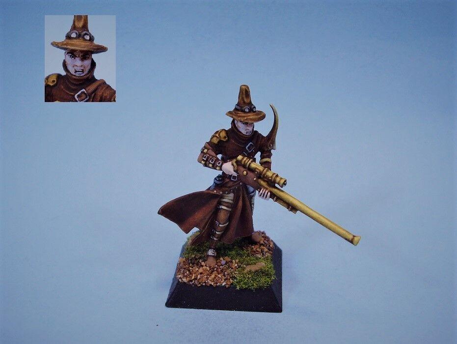 Konfrontation målad miniatyr grip Hunter av mörker