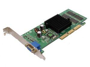 Nvidia Geforce 4 Mx420 64 Mo Agp Carte Graphique Video 5643 Ebay