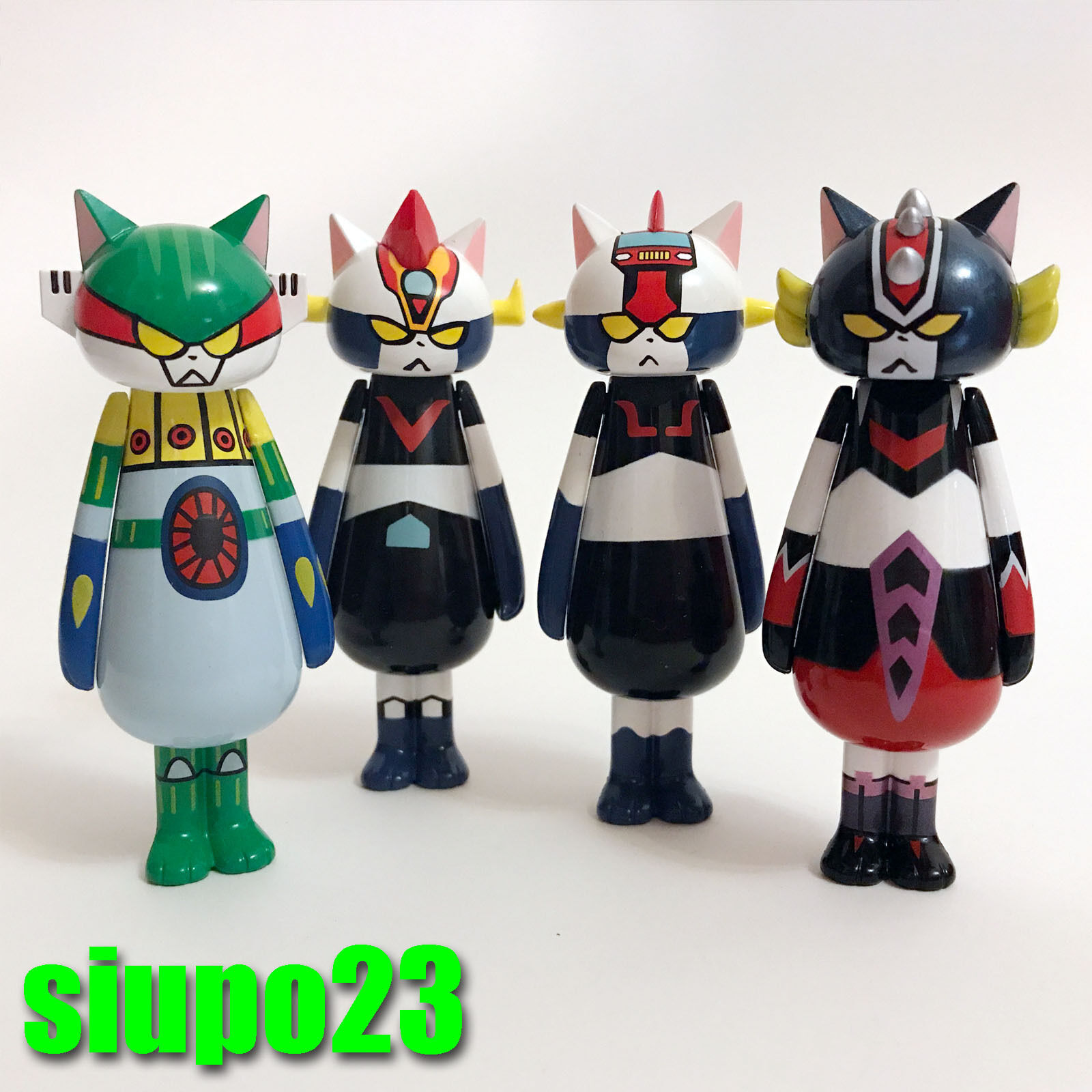 Action Action Action Toys Nya Nya Nyas  Go Nagai Mini Figure with Secret Full set 10pcs aa6761