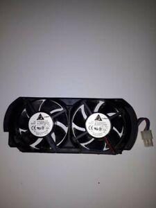 Genuine-Microsoft-Xbox-360-Power-Dual-Cooling-Fan-4-Pin-X801127-001