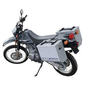 Suzuki DR650SE DR650S 1996–2018 Tusk Aluminum Panniers w/ Racks ...