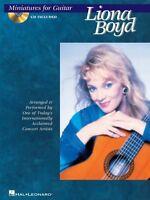 Miniatures For Guitar Sheet Music Guitar Book And Cd 000699386
