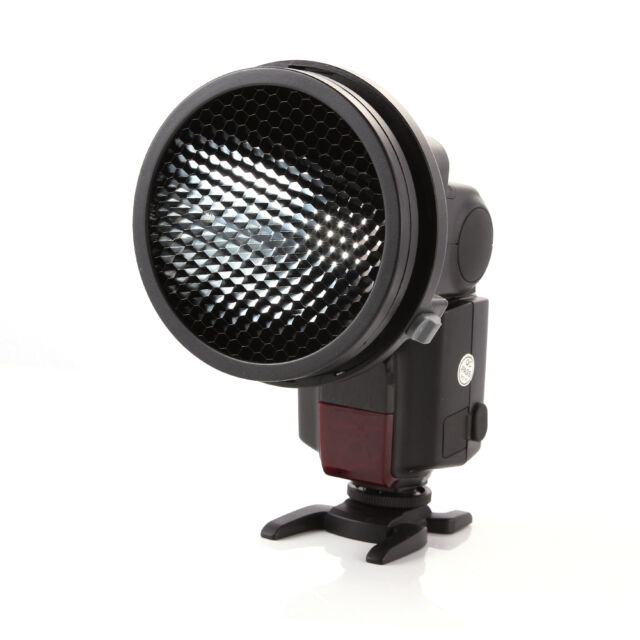 Universal Mount Flash Adapter K9+ Honeycomb for Flash Light Speedlite Speedlight