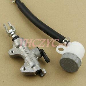 Rear Brake Master Cylinder Fluid Pump For Kawasaki ZX636 Ninja ZX-6R 2002-2014