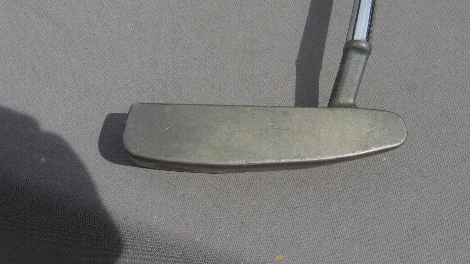 Vintage PING Zing Manganese Bronze Putter 8 10 RH 34.5