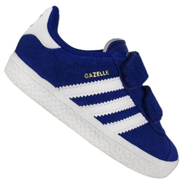 sale retailer 0d3b1 77bd9 Adidas Originals Gazelle 2 II Cf Children s Sneakers Baby Learning to Walk  Shoes