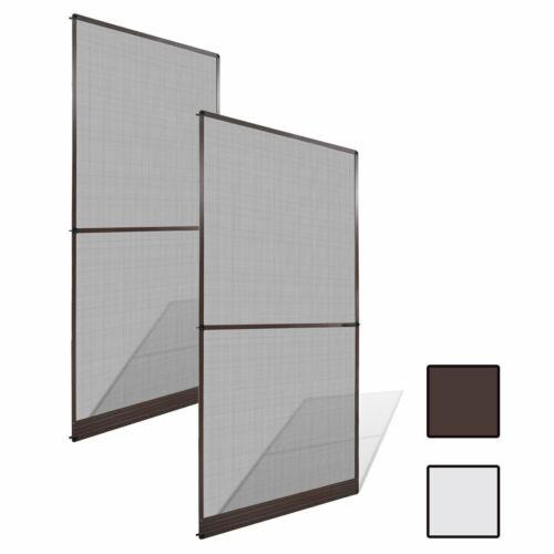 Hinged Insect Door Net Screen Bug Mosquito Fly Curtain Mesh Guard Aluminium