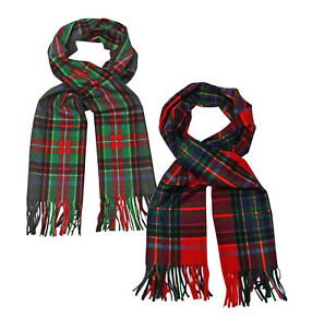 b41be4e47265c Image is loading ITZU-Co-Unisex-Soft-Touch-Tartan-Plaid-Winter-