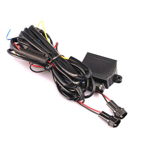 DRL LED Daytime Running Light Relay Harness Automatic On Off Control Switch 1 EV