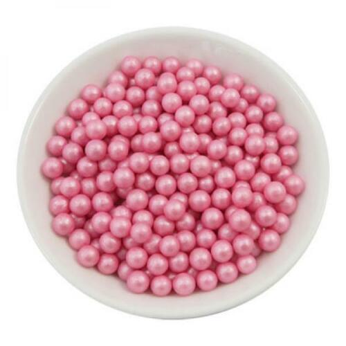 Azúcar perlas 7mm-Pink 300g