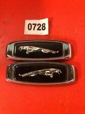 728 Set Jaguar Leaping Cat Xj6 Xj8 88 94 Fender Lr Side Emblem Logo Oem
