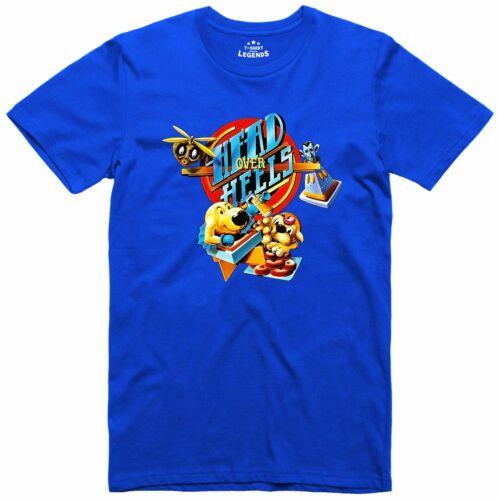 Head Over Heels Spectrum 48k C64k Classic Ocean Game Officially licensed T Shirt