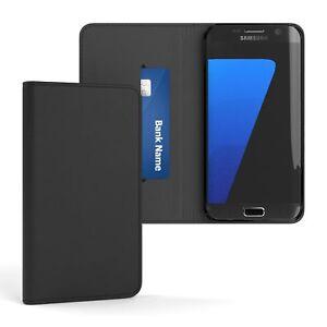 Tasche-fuer-Samsung-Galaxy-S7-Edge-Cover-Handy-Schutz-Huelle-Case-Etui-Schwarz