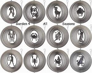 6-034-15cm-SILVER-ZODIAC-STAR-SIGN-Stainless-Steel-Wind-Spinner-Sun-Catcher-Garden
