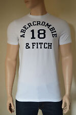 NUOVO Abercrombie & Fitch macnaughton Mountain BIANCO # 18 VINTAGE TEE T-SHIRT XL