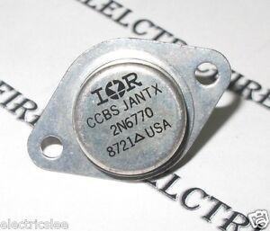 IR 1pcs-International Rectifier 2N6770 TO-3 Transistor NOS