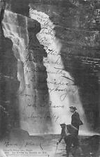 WATERFALL LA CHUTE DU DOUBS EN ETE NEUCHATEL SWITZERLAND POSTCARD 1909