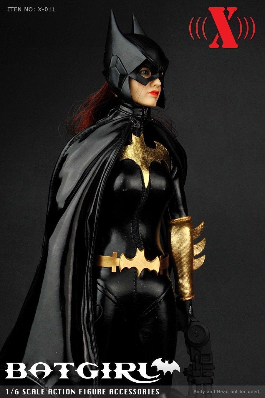 BATGIRL Suit Set X-011 1 6 Female Clothes Fit 12  Woman Figure No Body No Head