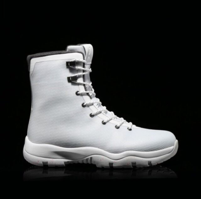 sports shoes 20048 1ebe7 New Nike Air Jordan Future Boot Mens Size 10.5 White WaterProof (854554-100)