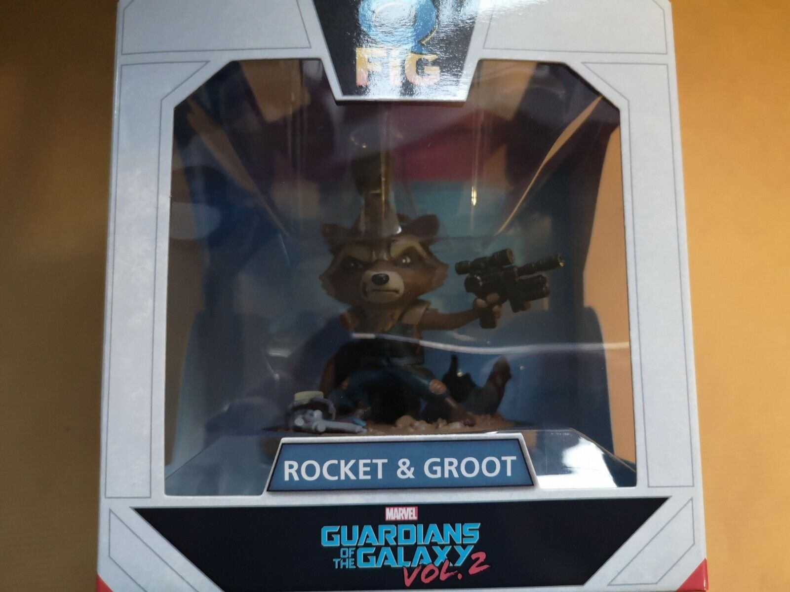 UNIQUE Rocket & Groot (Marvel Guardians of the Galaxy 2)