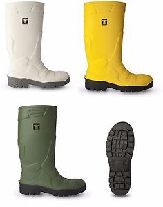 GUY-COTTEN-GC-Chaussures-de-securite-Wellingtons-embout-en-acier-NETTOYAGE-amp