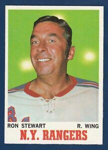 RON STEWART 70-71 TOPPS 1970-71 NO 64 NRMINT+ 2
