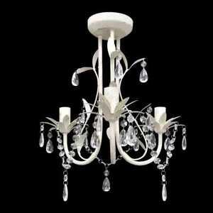 76-88W Deckenlampe Deckenleuchte Kristall LED Kronleuchter Pendelleuchte Lüster#