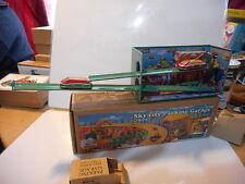 tin toy tole  sky-city garage du ciel (car elevator 266)