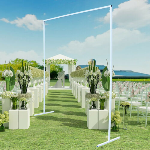 2*2m Iron Square Wedding Party Bridal Garden Background Decor Flower Rack
