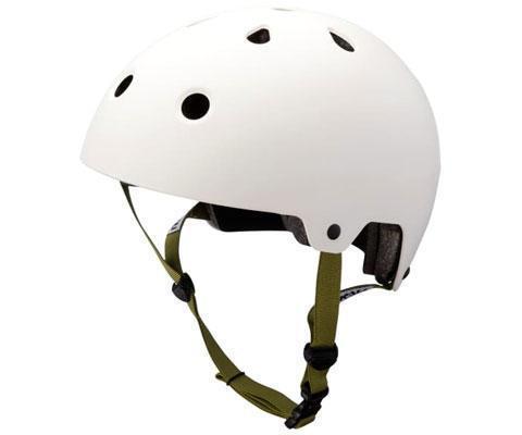 Kali Maha Helmet Solid White Medium Bike