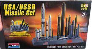 Monogram-USA-USSR-Missile-Set-1-144-FS-NEW-Model-Kit-Sullys-Hobbies