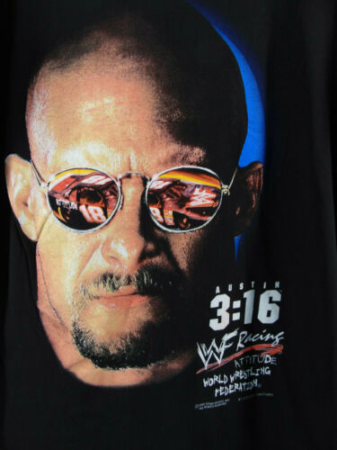 Stone Cold Steve Austin 3:16  WWF Racing  T Shirt