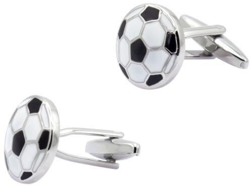 Gemelos De Plata Sports Soccer Ball Liga de Fútbol FIFA jugador Gemelos newuk