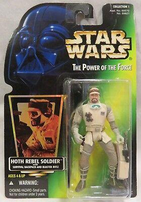 Star Wars Rebel Fleet Trooper Freeze Frame POTF2 VARIANT .01 With Sticker Army