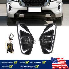 Led Fog Lamp Daytime Running Light For Nissan Navara Nueva D23 Facelift Np300 Us