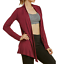 Sofra-Women-039-s-Open-Front-Soft-Draped-Long-Sleeve-Cardigan-Sweater-Longline-Tunic thumbnail 6