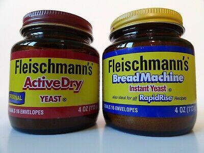 Fleischmann's Active Dry Yeast, and Bread Machine Instant ...