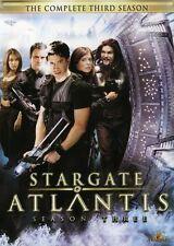 Stargate Atlantis: The Complete Third Season [5 Discs] (2009, REGION 1 DVD New)