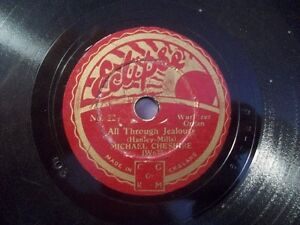 MICHAEL-CHESHIRE-034-The-Voice-In-The-Old-Village-Choir-034-78rpm-Eclipse-20cm