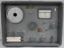 Marconi Instruments Ltd England Carrier Deviation Meter Tf79id