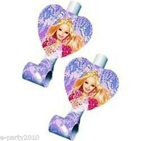 Barbie 12 Dancing Princesses Blowouts (8) Birthday Party Supplies Mattel Doll