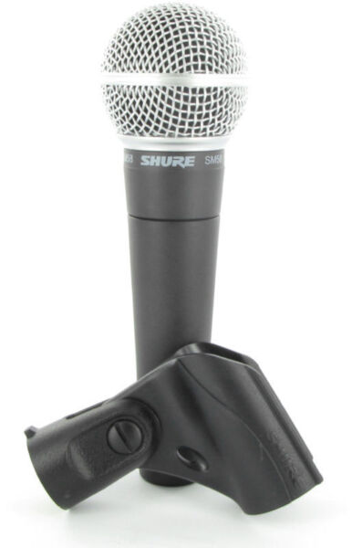 shure sm58 lc dynamic wired xlr professional microphone for sale online ebay. Black Bedroom Furniture Sets. Home Design Ideas