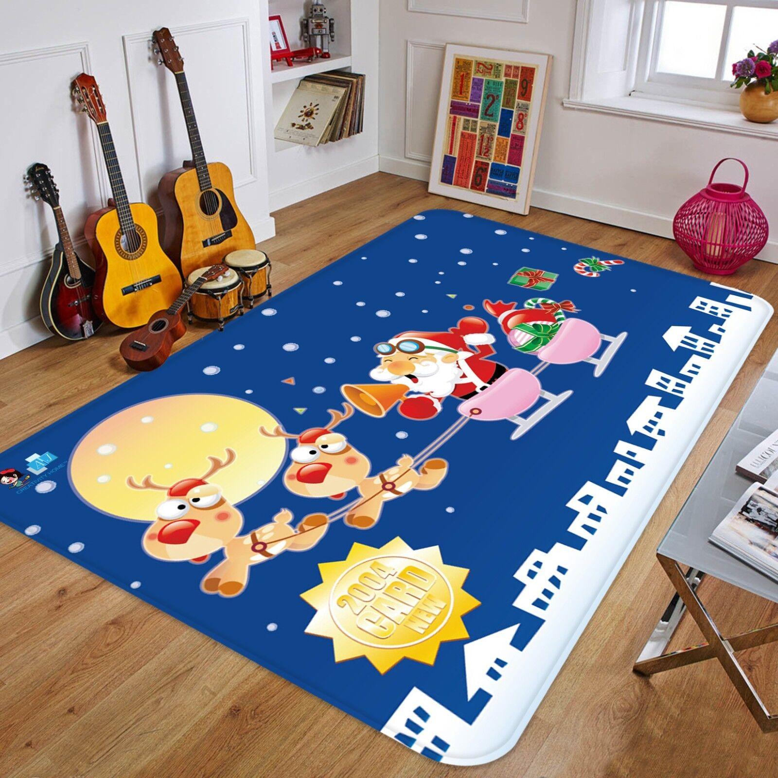 3D Weihnachten Xmas 429    Rutschfest Teppich Raum Matte Qualität Elegant Teppich bbdfb0