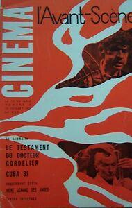 Il-Testament-Del-Dr-Cordelier-Cuba-Si-Barrault-Avant-Scene-Cinema-No-6-di-1961