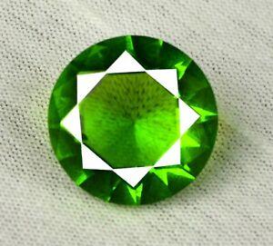 US Seller Pakistan Peridot 9.50 Ct Round Gemstone 100% Natural Certified SG56