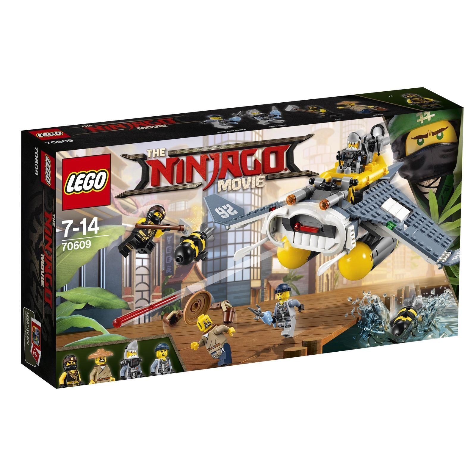 THE LEGO® NINJAGO® MOVIE™ 70609  Mantarochen-Flieger  NEU OVP NEW MISB